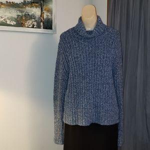 Royal Robbins Turtle Neck Confetti Fleck Sweater